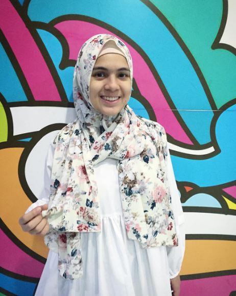 Gaya Hijab Nycta Gina © 2016 brilio.net