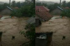 Video dahsyatnya banjir bandang di Bima yang rendam ribuan rumah