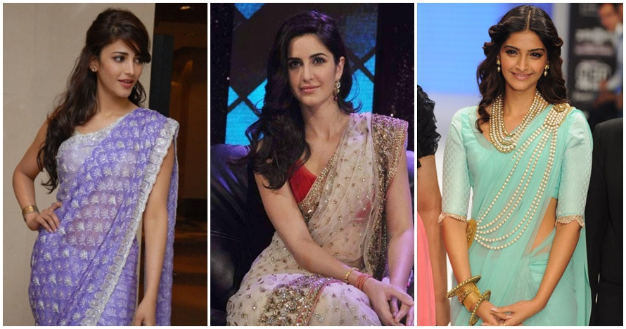 15 Aktris Bollywood ini makin cantik maksimal ketika memakai Sari