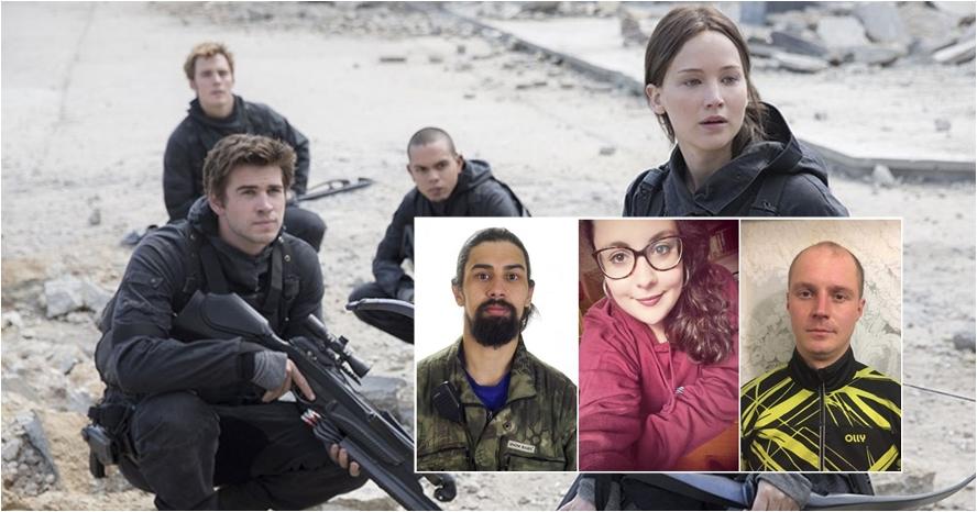 Ini para calon peserta acara Hunger Games sungguhan di Rusia