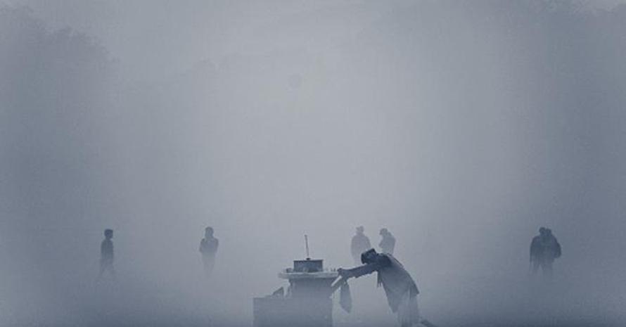 13 Foto gelapnya China akibat polusi udara yang parah, bikin trenyuh