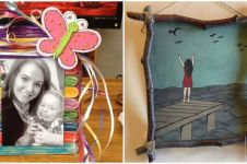 10 Ide bikin frame foto cantik, simpel tapi bikin kesengsem