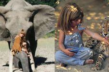 12 Potret kehidupan anak kecil di alam liar, bikin takjub