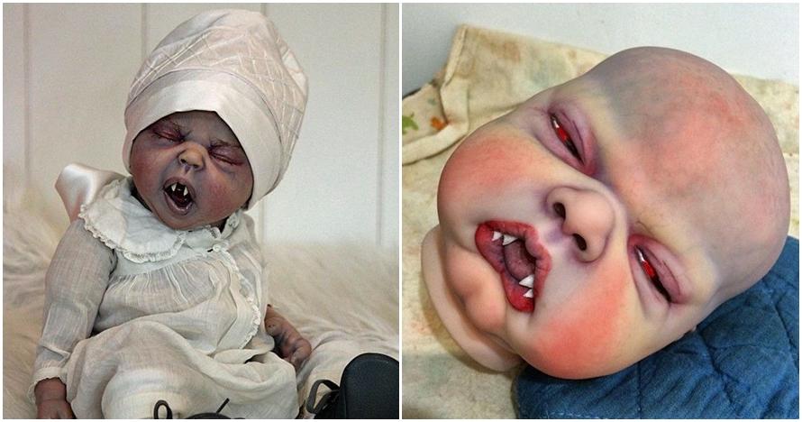 Harga boneka bayi vampir ini ternyata fantastis, coba tebak berapa?