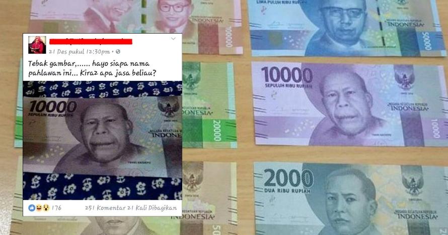 Kepahlawanan Frans Kaisiepo dilecehkan netizen, duh