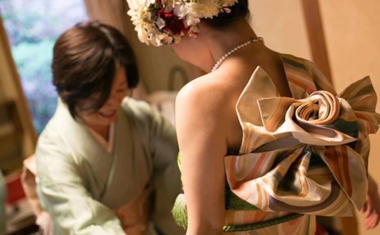 kimono pengantin © 2016 brilio.net