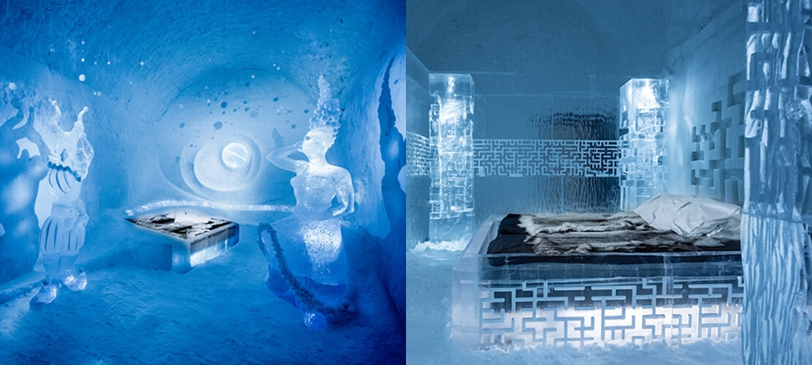 15 Potret hotel terbuat dari es ini kerennya bikin melongo