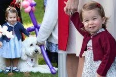 10 Foto Princess Charlotte putri Kate-Prince William, makin lucu lho