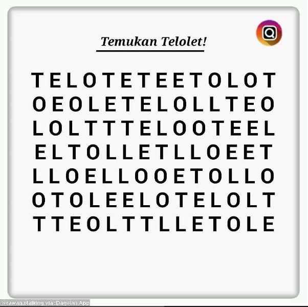 Uji kejelianmu dengan temukan kata 'Telolet' di gambar ini