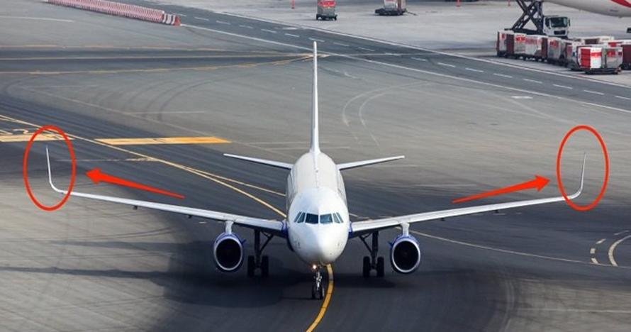 Ini alasan kenapa sayap pesawat ujungnya melengkung ke atas