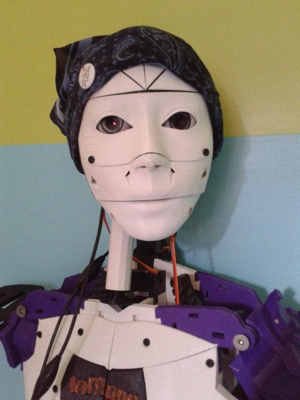 wanita ini pilih nikahi robot © 2016 odditycentral