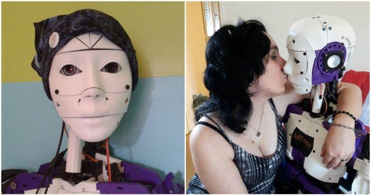 Tak suka manusia, wanita ini lebih pilih nikahi robot