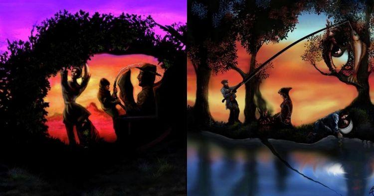 7 Lukisan menakjubkan ini bikin kamu melihat dua hal yang berbeda