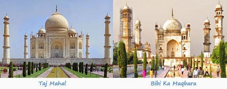 Bibi Ka Maqbara kembaran Taj Mahal © 2016 wherecoolthingshappen
