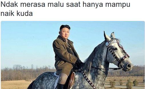 10 Foto Kim Jong-un dengan caption kocak ini bikin kamu cengar-cengir