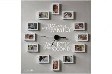 12 Ide pajang foto keluarga paling unik, bikin rumahmu makin asyik