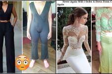 15 Foto buktikan kalau beli barang online kadang bikin nyesek