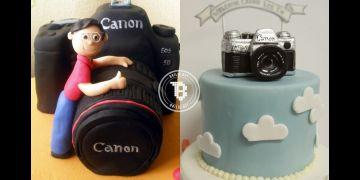 12 Kue ulang tahun bertema fotografi ini unik, sayang buat dimakan nih