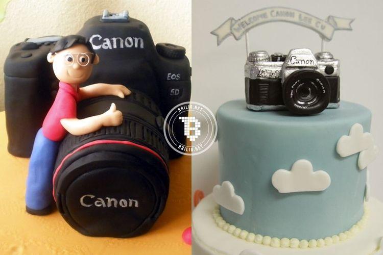 12 Kue Ulang Tahun Bertema Fotografi Ini Unik Sayang Buat