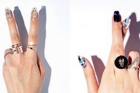 Nail art seperti berlapis berlian ini lagi hits banget di Korea