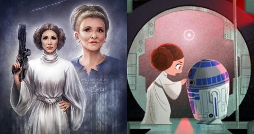 10 Karikatur ini dibuat netizen untuk mengenang Carrie Fisher