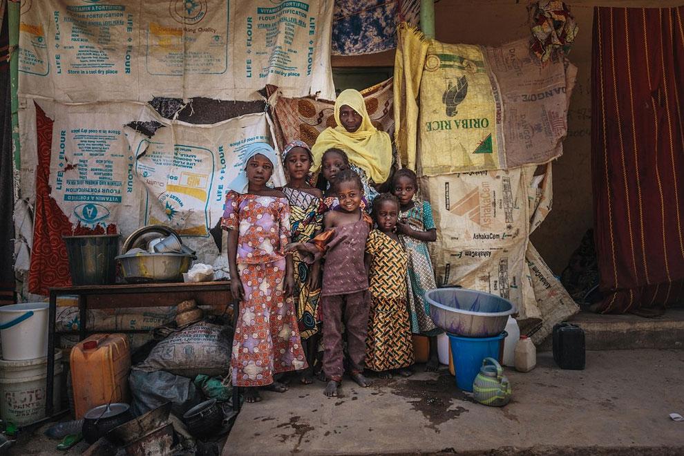 potret suram para keluarga pengungsi ini sungguh pilu © 2017 Muse Mohammed