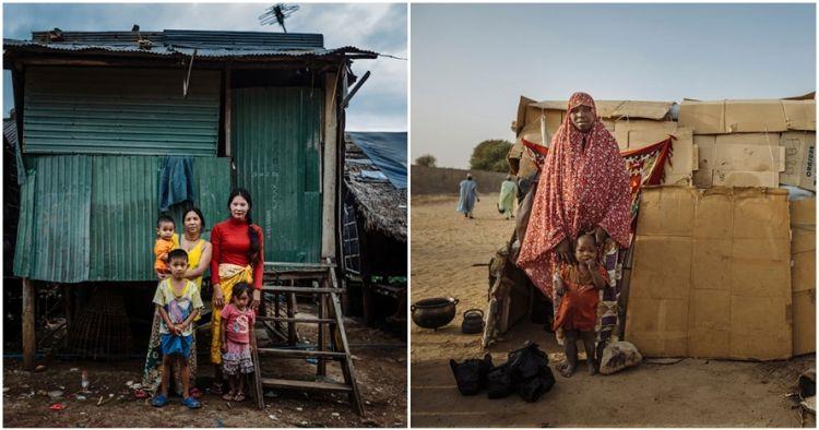 15 Potret suram para keluarga pengungsi ini sungguh pilu