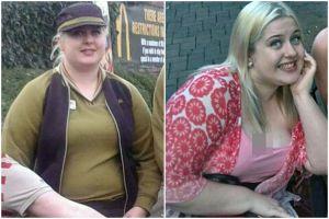 Perubahan tubuh gadis usai berhenti makan junk food ini drastis abis