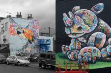 15 Mural apik ini cuma di Upfest, pesta street art terbesar di Eropa