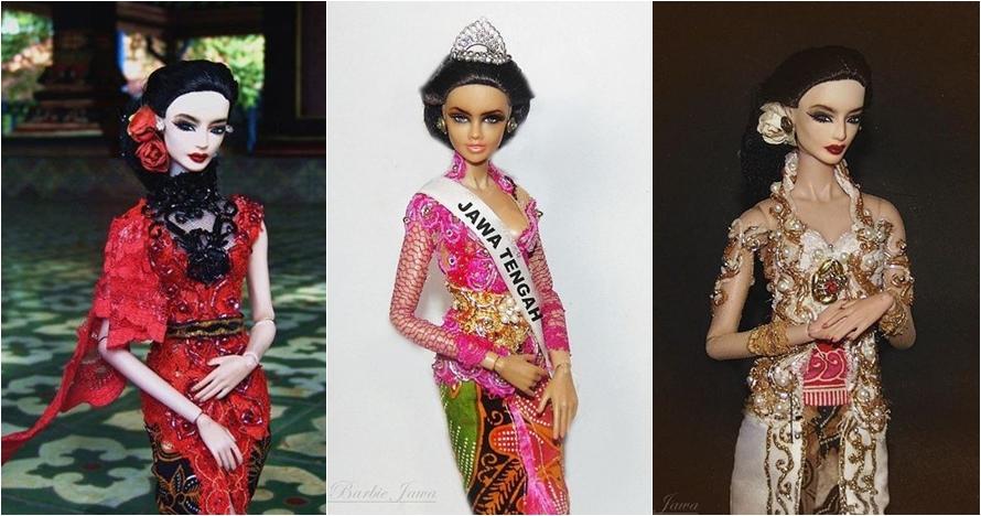 10 Foto barbie ala Jawa ini kerennya kebangetan, anggun & eksotis