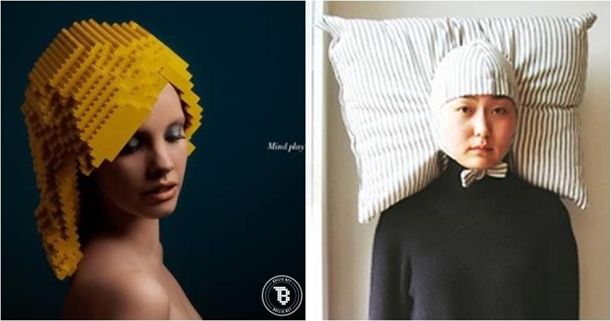 12 Wig ini modelnya tak lazim, keren atau nyeleneh?