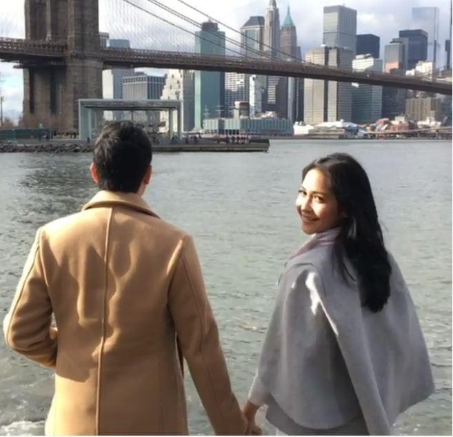 Netizen sindir Raffi Ahmad di foto prewedding adik Nagita Slavina ini