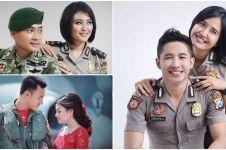 10 Foto mesra TNI-Polri bersama pasangannya ini bikin baper maksimal
