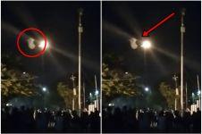 Netizen heboh penampakan diduga kuntilanak saat tawuran