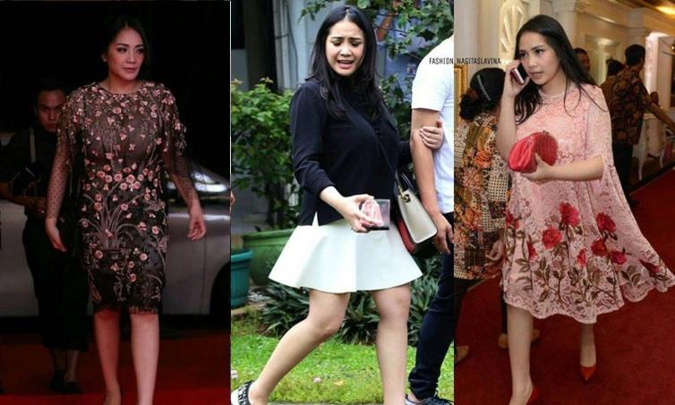 11 Bukti Nagita Slavina punya selera fashion simpel tapi berkelas