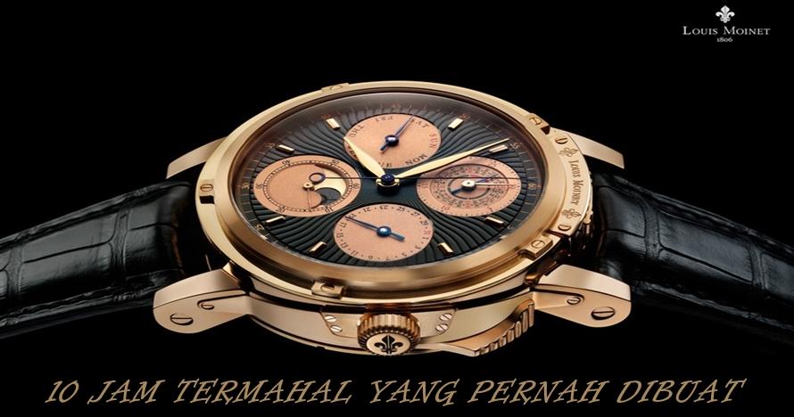 10 Arloji termahal di dunia ini harganya bikin kamu melongo