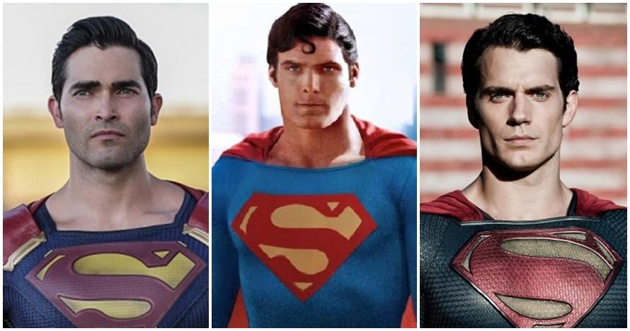 11 Aktor pemeran Superman dari masa ke masa, siapa paling ganteng?