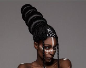 model rambut afro © 2017 brilio.net