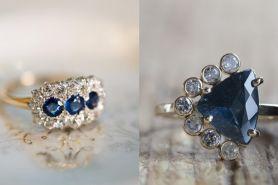12 Inspirasi cincin tunangan ini cocok buat kamu pecinta warna biru