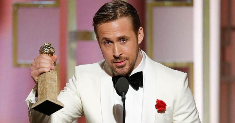 Pidato Ryan Gosling di ajang Golden Globes 2017 ini bikin meleleh