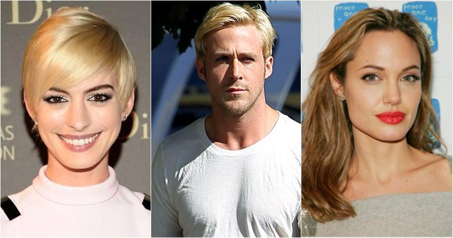 10 Selebriti dunia ini terlihat lebih memukau dengan rambut gelapnya