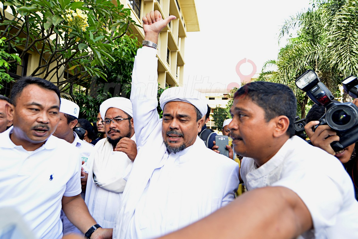 Fpi Chairman Rizieq Shihab Reported Over Comments On Bi Logo