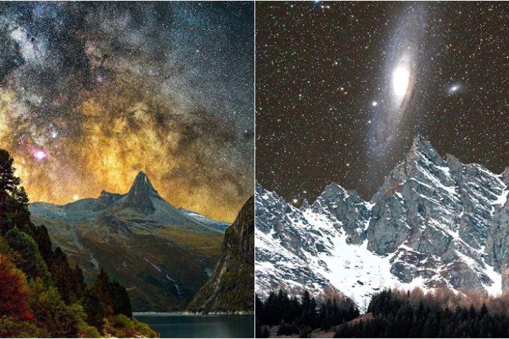 10 Foto galaksi Andromeda di langit Swiss ini siap manjakan matamu