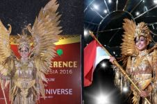 Kostum Puteri Indonesia untuk Miss Universe ini keren abis