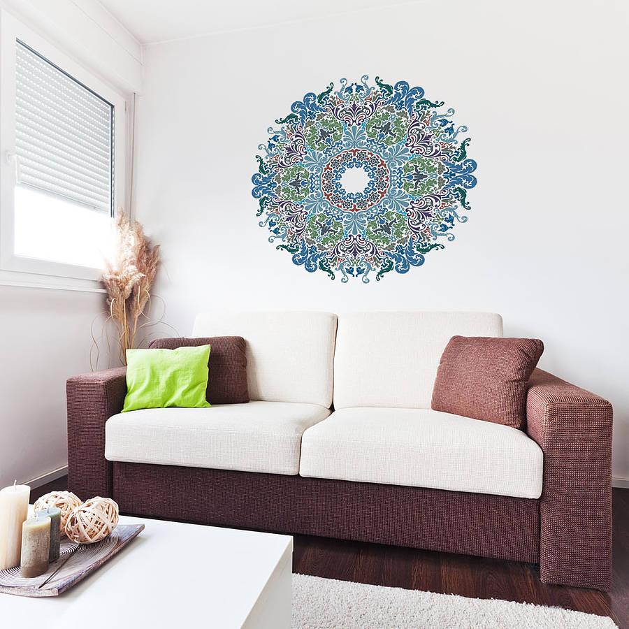 rumah dekor mandala © 2017 brilio.net
