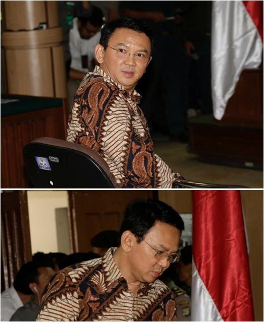 model batik ahok selama jalani sidang penistaan agama © 2017 berbagai sumber