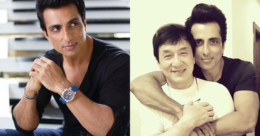 15 Foto macho Sonu Sood, lawan main Jackie Chan di film Kung Fu Yoga