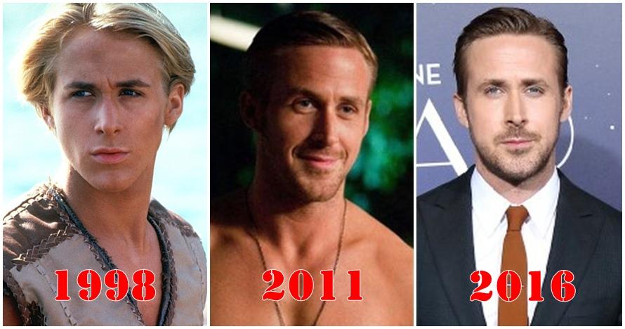 14 Foto Ryan Gosling dari masa ke masa, kok tetap muda ya?
