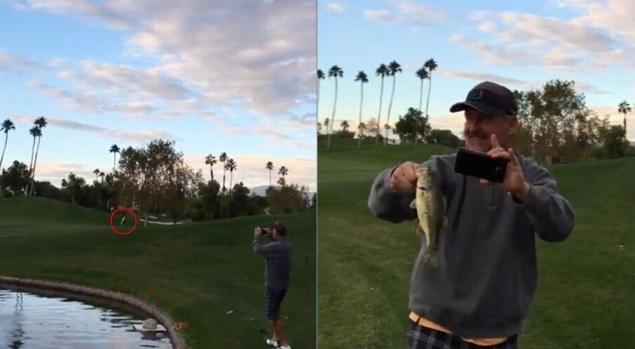 Tak disangka, pria ini punya cara unik untuk memancing ikan