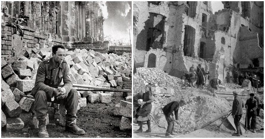 15 Foto langka Berlin ketika Jerman kalah perang, bikin terenyuh